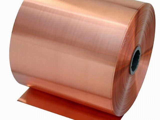 COPPER COIL/SHEET/FOIL